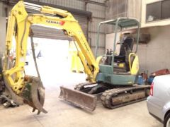 Yanmar VIO35 Excavator Earthmoving Equipment for sale NSW