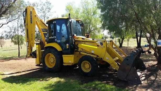 Komatsu 97R Backhoe Earthmoving Equipment for sale NSW