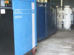 1 x Compair Air Compressor Plant and Equipment for sale VIC Tyabb