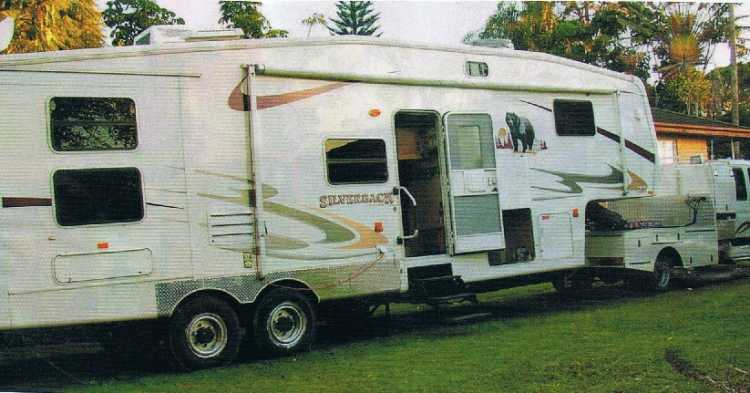 Fantastic Iveco Daily Flagstaff Super Fifth Wheeler Caravan For Sale QLD
