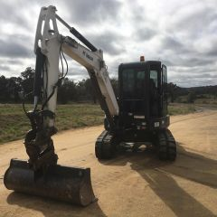 2014 Bobcat E50 Excavator for sale crookwell NSW