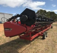 2016 Case 3050 Varicut 12.5m Front Farm Machinery for sale SA Coulta