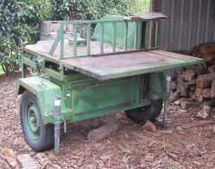 Farm Machinery for sale VIC Firewood Saw Bench, Hay Spike