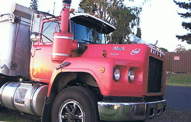M & S Dog Trailer, Mack Valueliner Tipper Truck for sale NSW Willow Tree