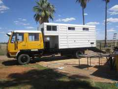 Horse Transport for sale NSW Mitsubishi FK417 Turbo 5 Horse Truck