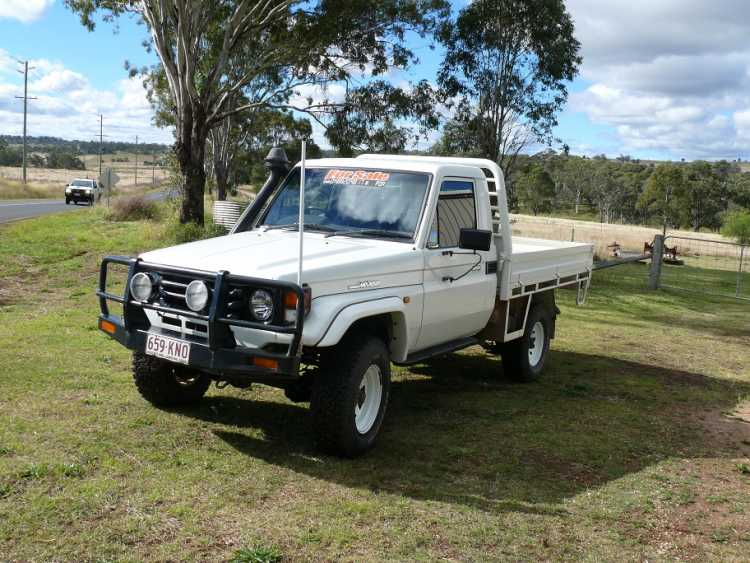 Cl Ified 2005 Turbo Landcruiser Ute For Sale Qld Woolmer