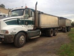 Hercules Trailer & Kenworth T401 truck for sale Vic