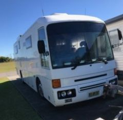1987 Mitsubishi Fuso MK117J Motorhome for sale NSW Casino