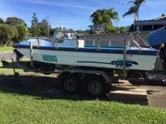 5 Metre Try Hull Glass Barra Boat & Maine for sale QLD