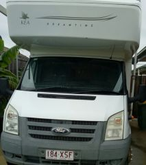 2008 Kea Ford Transit Motor Home for sale Qld Marsden