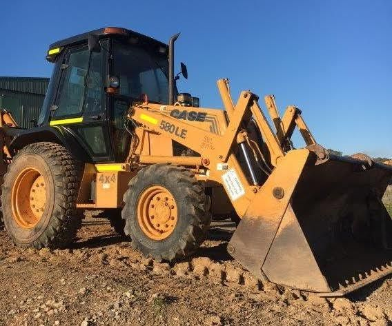Case 580LE Backhoe Loader Earthmoving Equipment for sale Crookwell  NSW