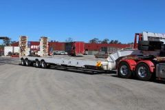 MTE 4x4 Axle Widening Low Loader Trailer for sale QLD Brisbane