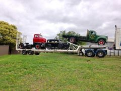 1985 Bogie Drop Deck Semi trailer for sale Vic Clyde North