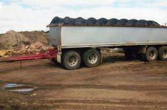 Chris's Body Builders Quad Tipping Dog Trailer for sale VIC Narra-Warren