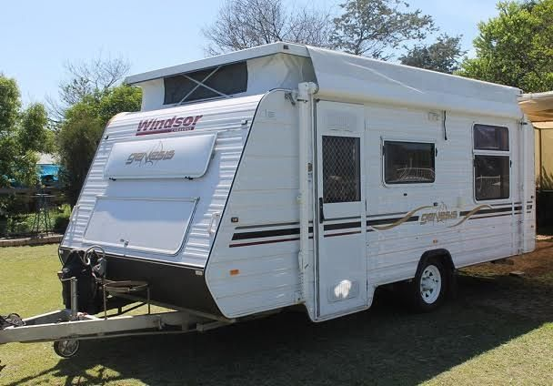 Amazing Coronet 20ft Family Bunk Caravan FOR SALE From New South Wales Sydney