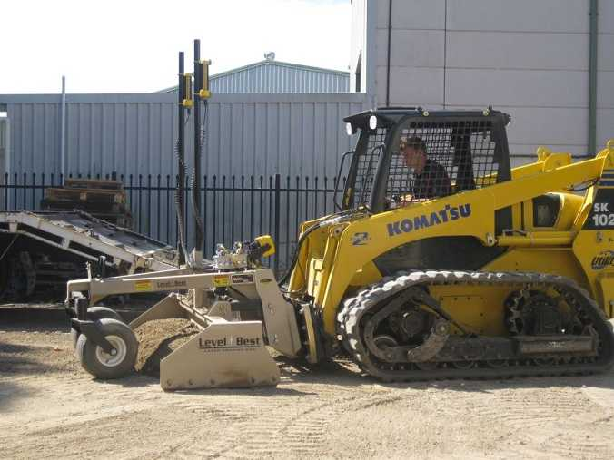 Level Best Laser Grading  Earthmoving Equipment for sale NSW Cardiff
