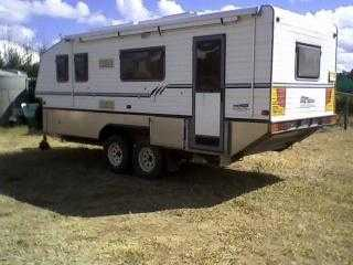 2006 Bushtracker Caravan for sale QLD Emerald