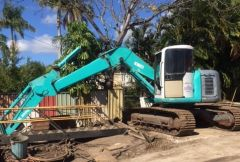 Kobelco SK13OUR 13T Excavator for sale Rockhampton Qld