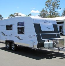 2010 Vanguard Adventure Barcoo Semi Off Road caravan for sale QLD