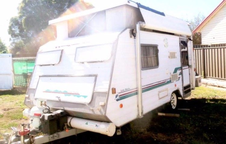 14 Foot X 7 Foot Windsor pop-top Caravan for sale Vic