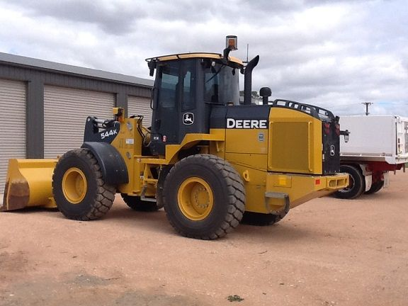 Loader John Deere 544K Earthmoving Equipment for sale NSW