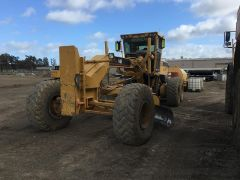 Caterpillar 14H Series 11 Grader earthming Equipent for sale Melbourne Vic