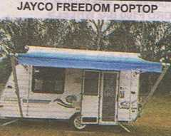 Caravan for sale Qld Jayco Freedom Poptop in Chambers Flat