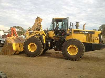 Earthmoving Equipment for sale NSW Komatsu WA 480-6A Loaders