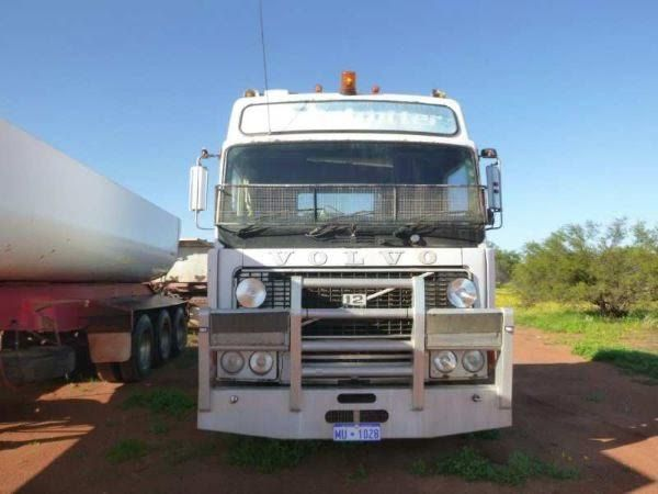 1983 Volvo Globetrotter Prime Mover Truck for sale WA