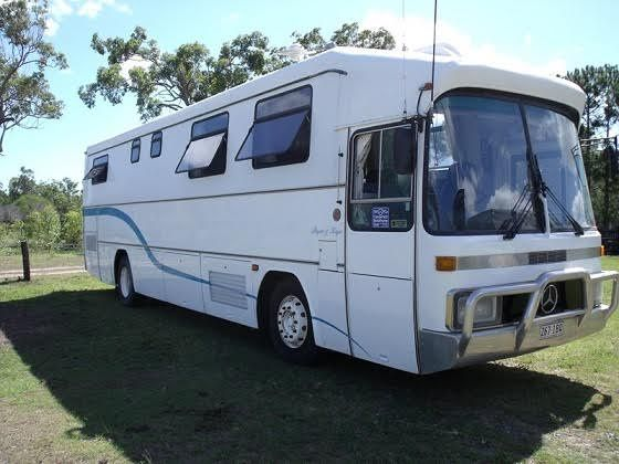 36 Ft Mercedes Benz 303 Motorhome for sale QLD Hervey Bay