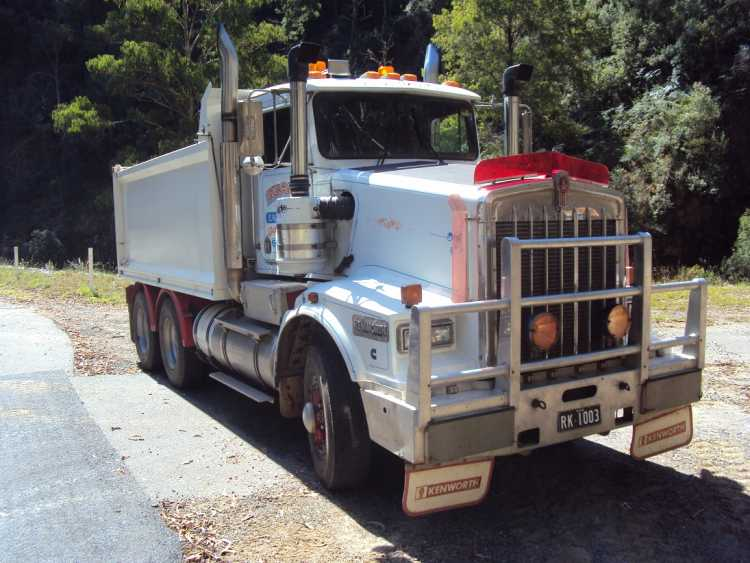 full sized images for sold items kenworth t650 tipper truck for sale nsw berridale. Black Bedroom Furniture Sets. Home Design Ideas