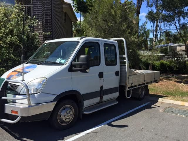 2011 iveco twin cab daily truck for sale qld van sales. Black Bedroom Furniture Sets. Home Design Ideas