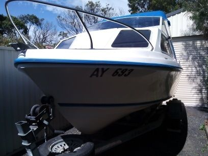 Carribean 5.2m Crest Cutter half cabin Boat for sale Pakenham Vic