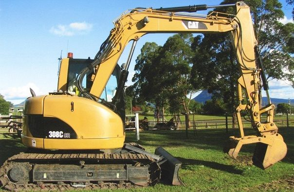 Caterpillar 308CCR Excavator for sale NSW Woodenbong