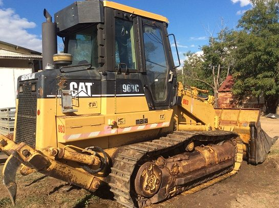 Cat Traxcavator 963C Earthmoving Equipment for sale NSW