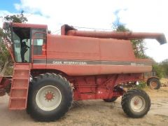 Case IH 1640 Header Farm machinery for sale Horsham Vic