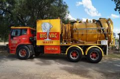 4500 Ltr Vacuum Tank on a  International Acco 2350G Truck for sale Vic