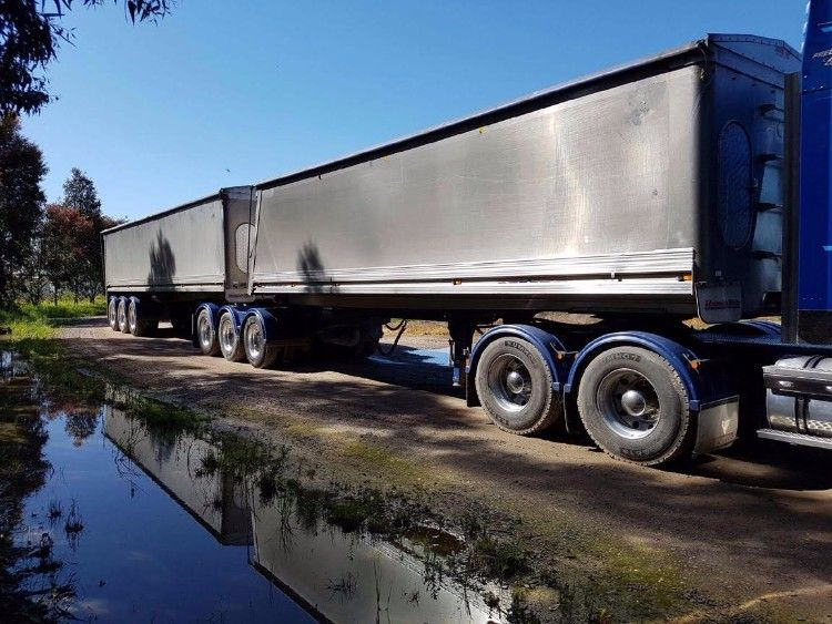 Hamelex B-Double Tipper Trailers for sale Vic Yarrawonga
