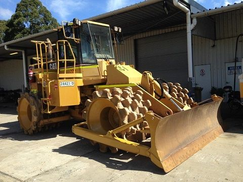 Caterpillar 815F Compactor for sale Terrigal NSW
