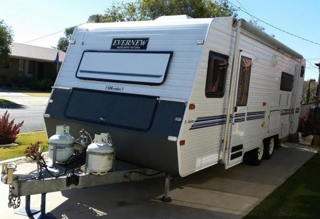 Evernew 23ft E Series Caravan for sale Mooroopna Vic